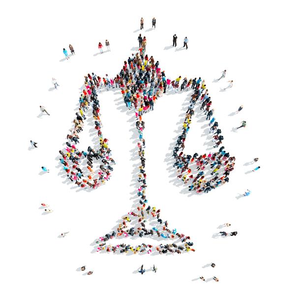 Balance de justice humaine